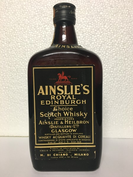 Ainslie´s Royal Edinburgh Choice Scotch Whisky