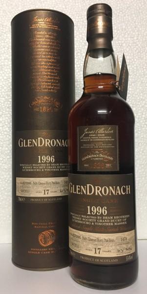 Glendronach 1996 17yo. Cask 1479
