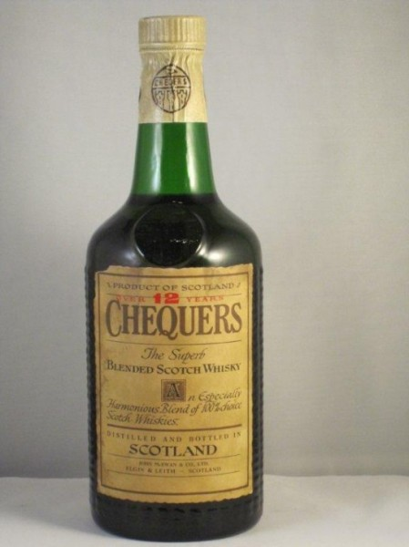 "Chequers 12 yo. ""The Superb"""