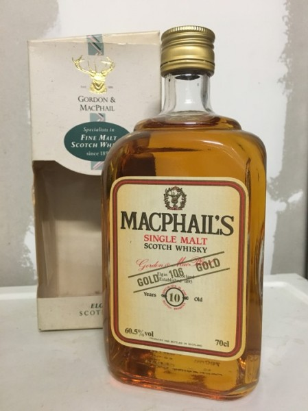 "MacPhails ""Gold 106 Gold"" 10yo."