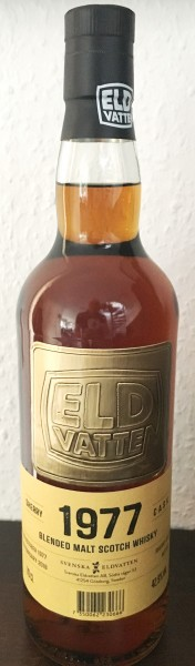 Eldvatten 1977 Blended Malt Whisky