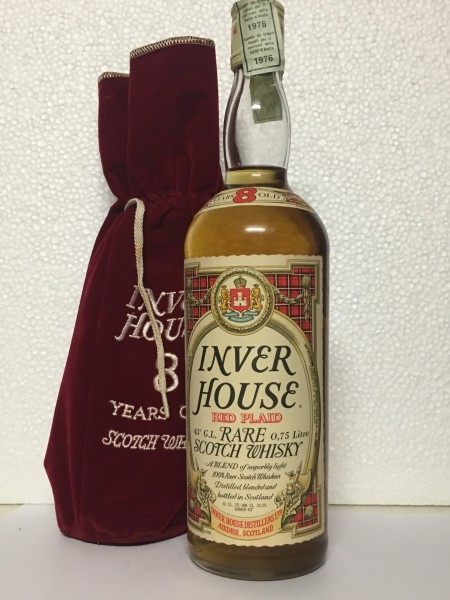 Inver House 8yo. Red Plaid