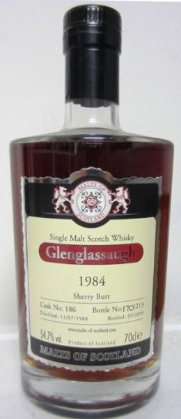 Glenglassaugh 1984 -Malts of Scotland-