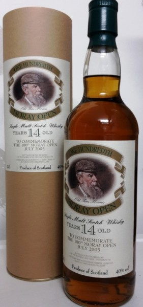 Macallan 1991 To Commemorate the 100th Moray Open July 2005