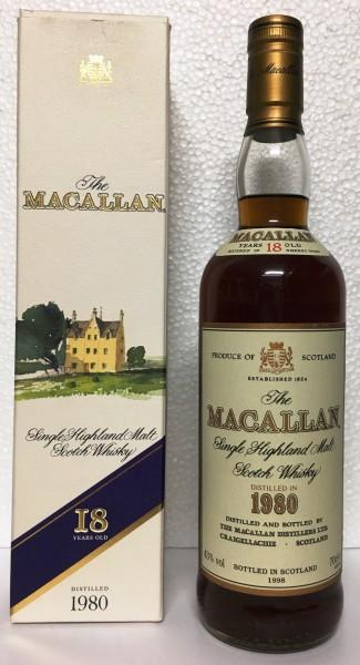 Macallan 1980 18 Years